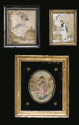 A GROUP OF TEN FRAMED REGENCY