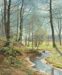 A Stream in the Woods