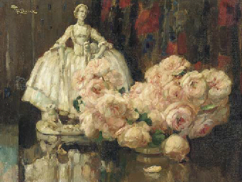 Still Life with a Bouquet of R