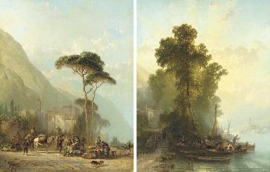 Market Day in Cannollio; and E