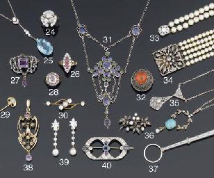 An Arts & Crafts, silver, fire