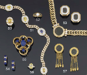 A lapis lazuli and diamond cli