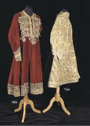 A surcoat of crimson velvet, t
