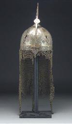 A Qajar damascened steel khula