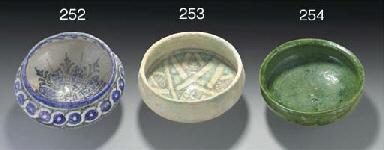 A glazed pottery bowl, north-a