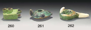 A Fatimid green and aubergine