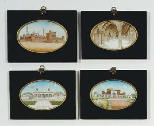 FOUR ARCHITECTURAL SCENES, DEL