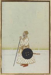 PORTRAIT OF A COURTIER, 18TH C