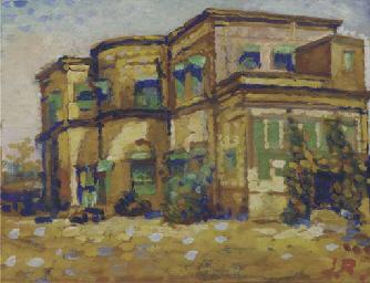 JAMINI ROY (INDIA 1887-1972) U