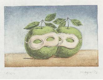 After Rene Magritte (1898-1967