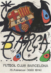 A collection of Joan Miro exhi