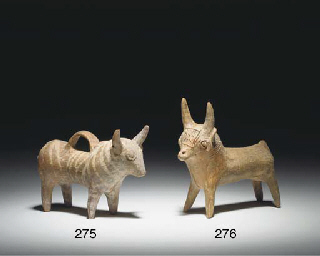 A CYPRIOT BASE-RING WARE BULL