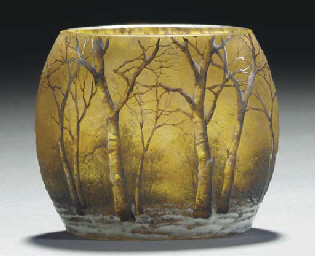 AN ETCHED AND ENAMELLED WINTER