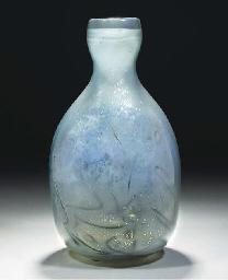 A 'UNICA' GLASS VASE