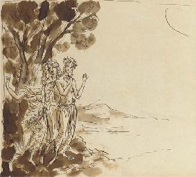 Mythological study of four fem