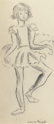 Study of a young ballerina