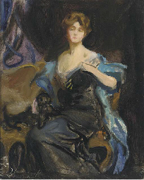 Preparatory sketch of A Lady