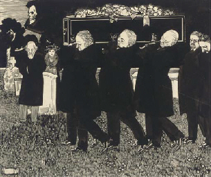 The funeral; and An old man in
