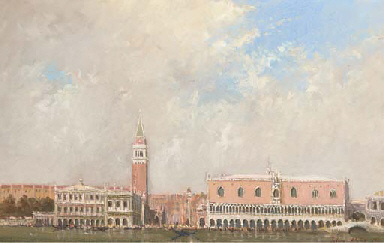 The Camponile & Doges Palace,