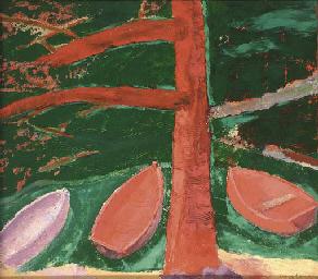 Red Tree, Green Lake