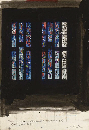 Study for window in the King G