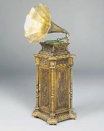 A Monarch Senior gramophone
