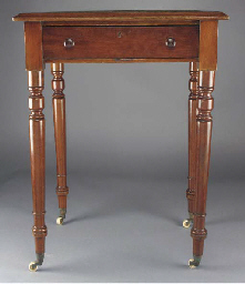 A magician's mahogany table,