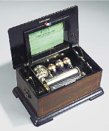 A musical box by L'Epée for Th