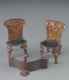 Two English William IV tinplat