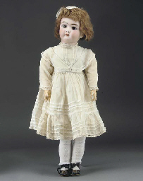 A bisque head 109 Child Doll