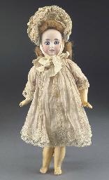A bisque head 183 child doll