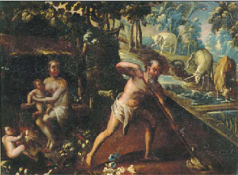 Adam and Eve with Cain and Abe