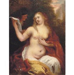 Bathsheba receiving David's le