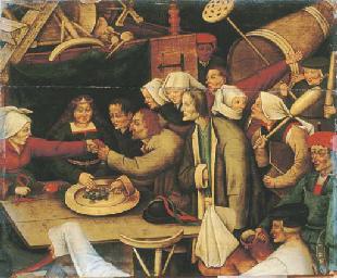 The Wedding Feast: a fragment