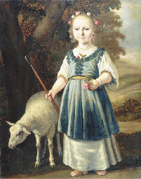 Portrait of a young girl dress