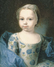 Portrait of a young girl, smal