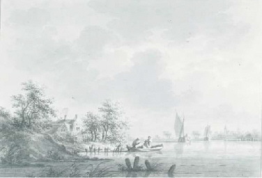 The village of Hael on the Riv