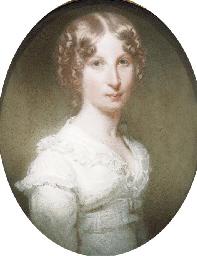 Portrait of Anne Madeleine Hen