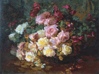 A Mixed Bouquet of Roses