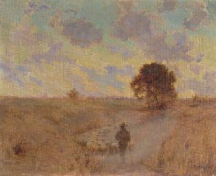 Shepherd in Pasture