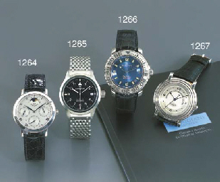 IWC. A STAINLESS STEEL ANTI-MA
