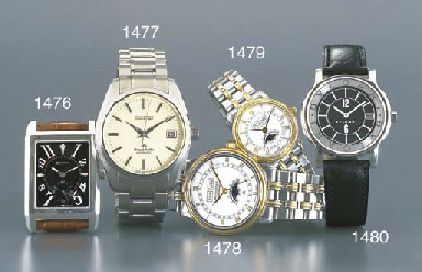 ZENITH. A STAINLESS STEEL RECT