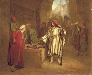 Bazaar at Cairo, Bedouins buyi