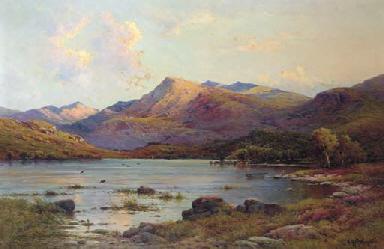 The Evening light, Loch Etive