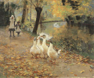 The Goose Girls