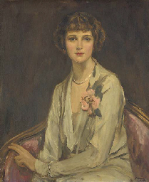 Portrait of Miss Mary Elizabet