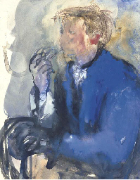 Young Man with Pipe