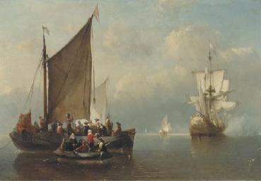 A salute at sea