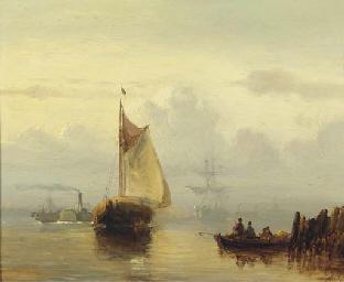 Steamship 'De Schelde' passing