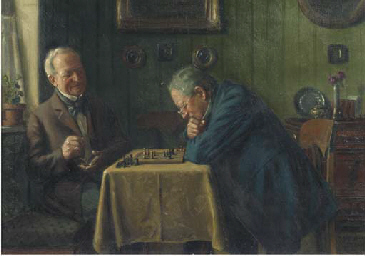 Head-to-head: a game of chess
